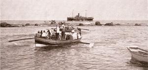 120 Jahre Schweizerischer Heiligland-Verein – Ausschiffung in Jaffa
