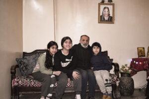 Nach dem Tod seiner Frau Taline sorgt Sabri Abiad allein für seine drei Kinder.